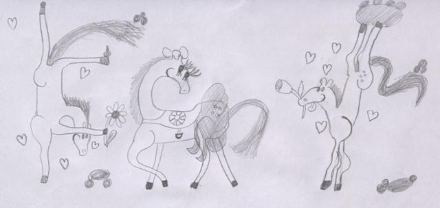 Cat disegni cavalli e animali for Immagini disegni cavalli