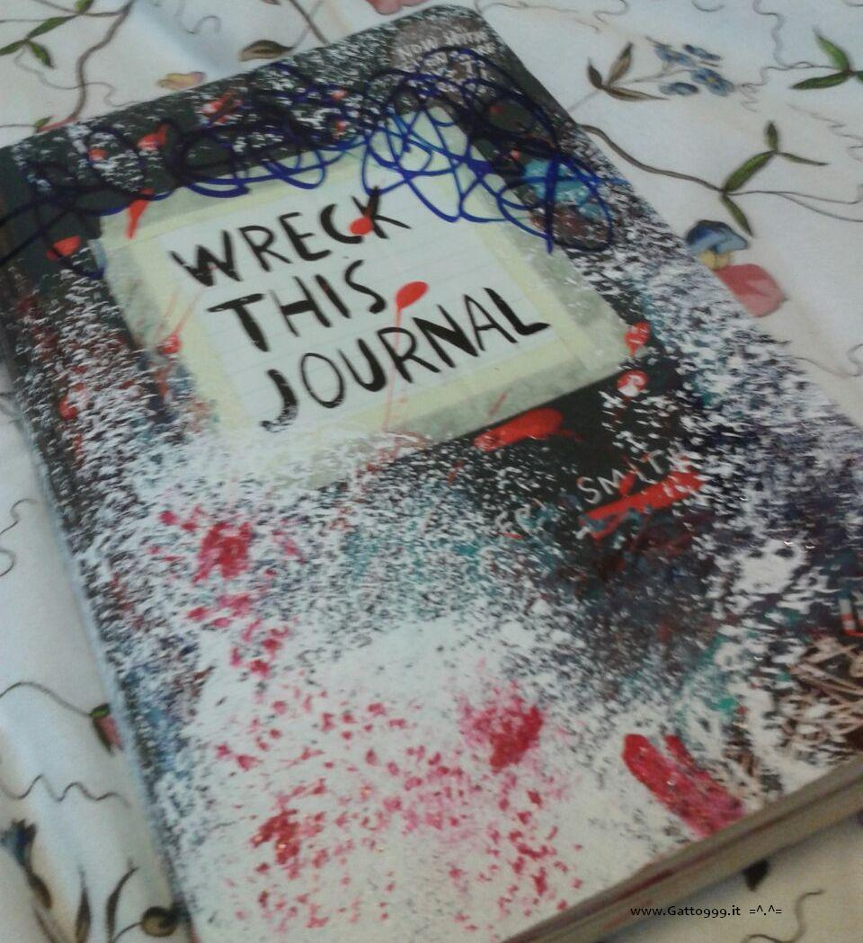 Wreck this journal by Gatto NineNineNine