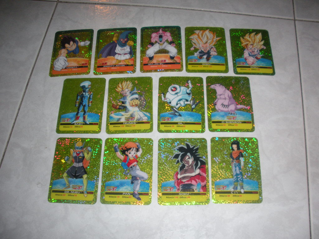 Cards Dragonball