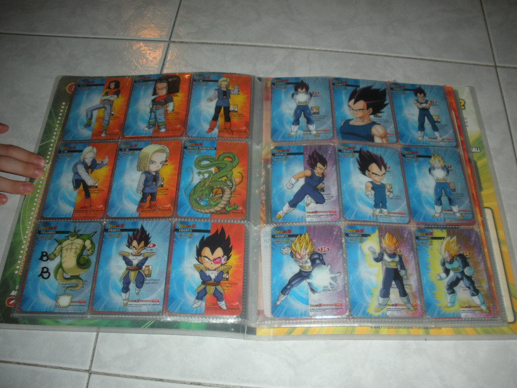 Lamincard Dragonball Dispenser