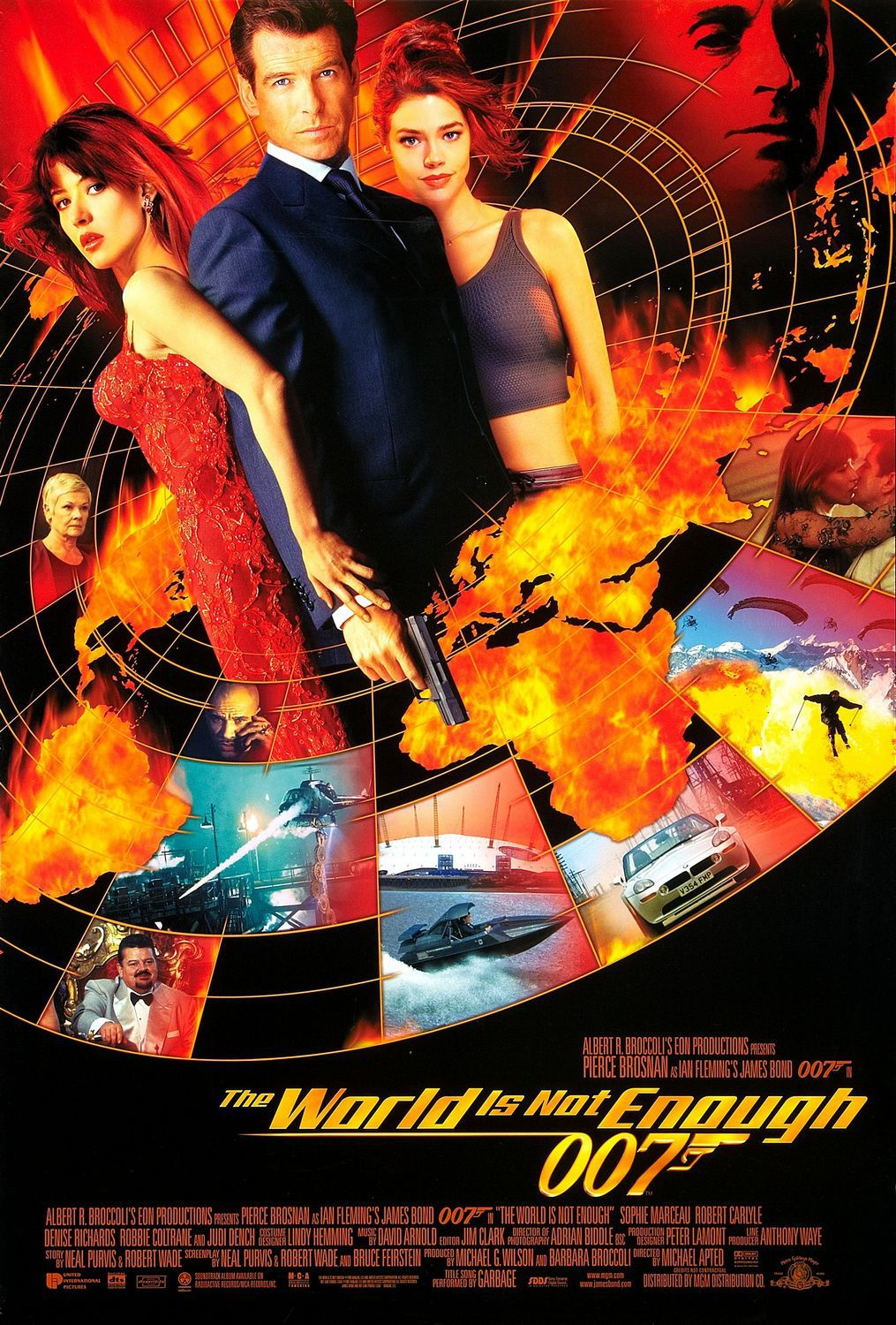 007 World is not Enough - film poster