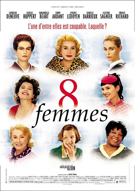 8 donne e un mistero - Eight Women - 2002 musical film poster
