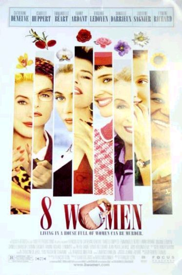 8 donne e un mistero - Eight Women - musical poster