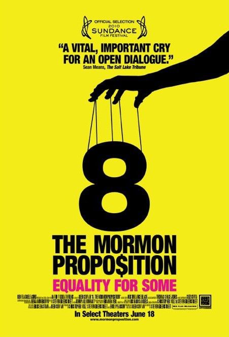 8 the Mormon Proposition (2010) - film poster eight