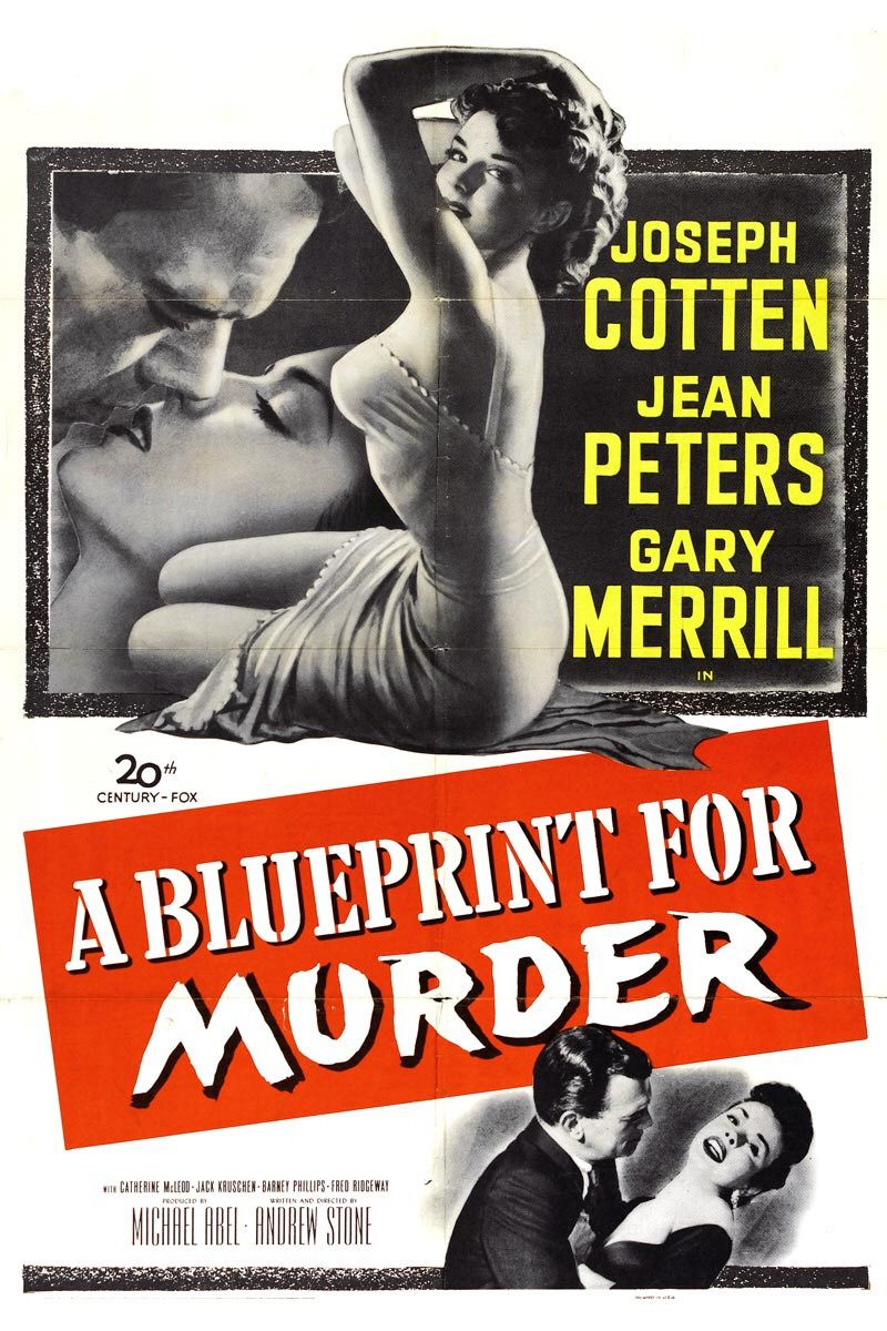 A Blueprint for Murder (1953) - classic cult old film