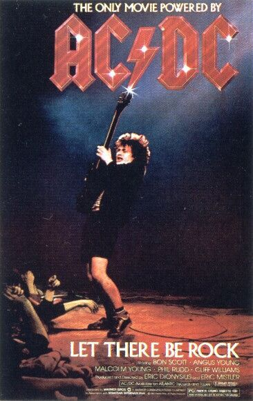 AC/DC let there be Rock (1980)