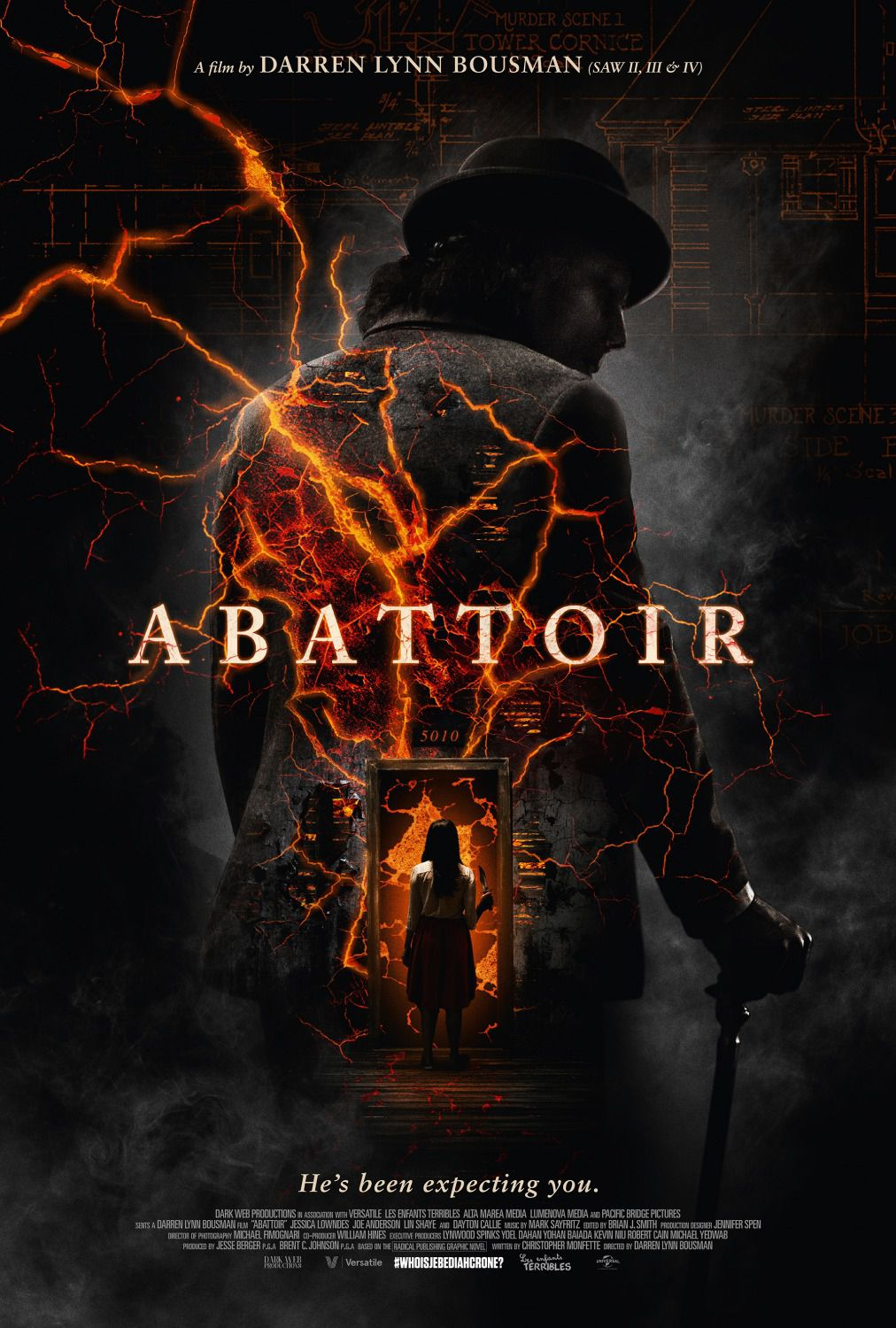 Abattoir - How do you build a haunted house - film poster 2016