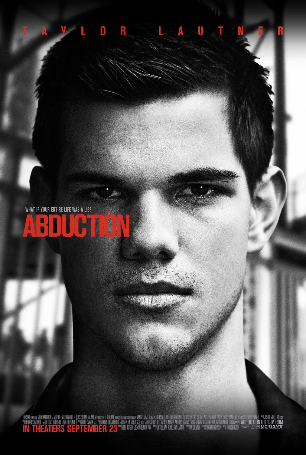 Abduction (2011) - Taylor Lautner