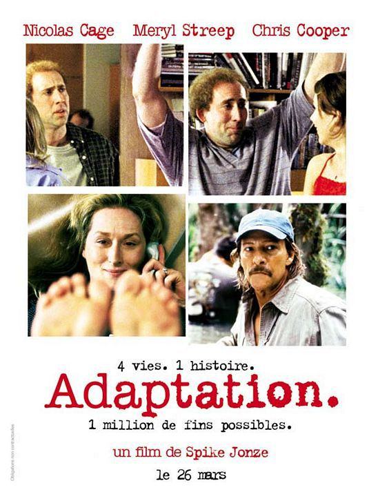 Adaptation - Il Ladro di Orchidee (2002)