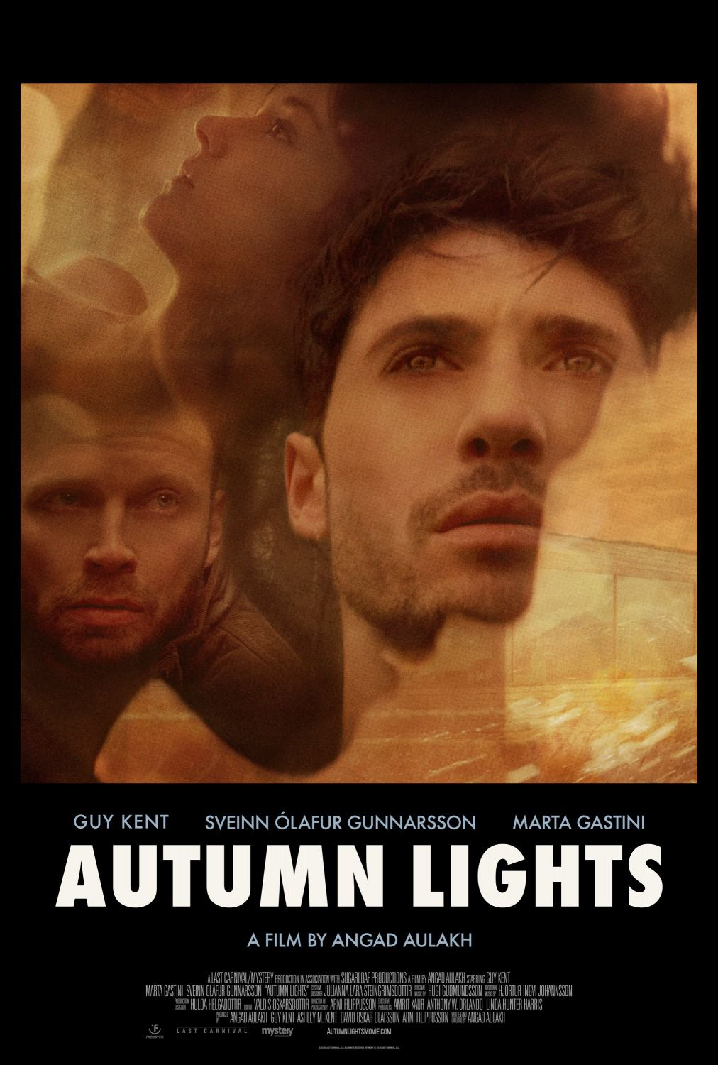 Autumn Lights - Cast: Guy Kent, Sveinn Olafur Gunnarsson, Marta Gastini - film poster