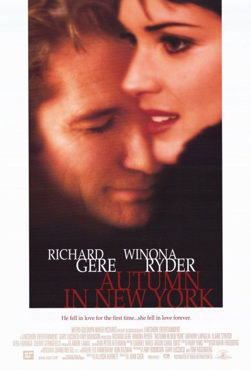 Autumn in New York - love film poster