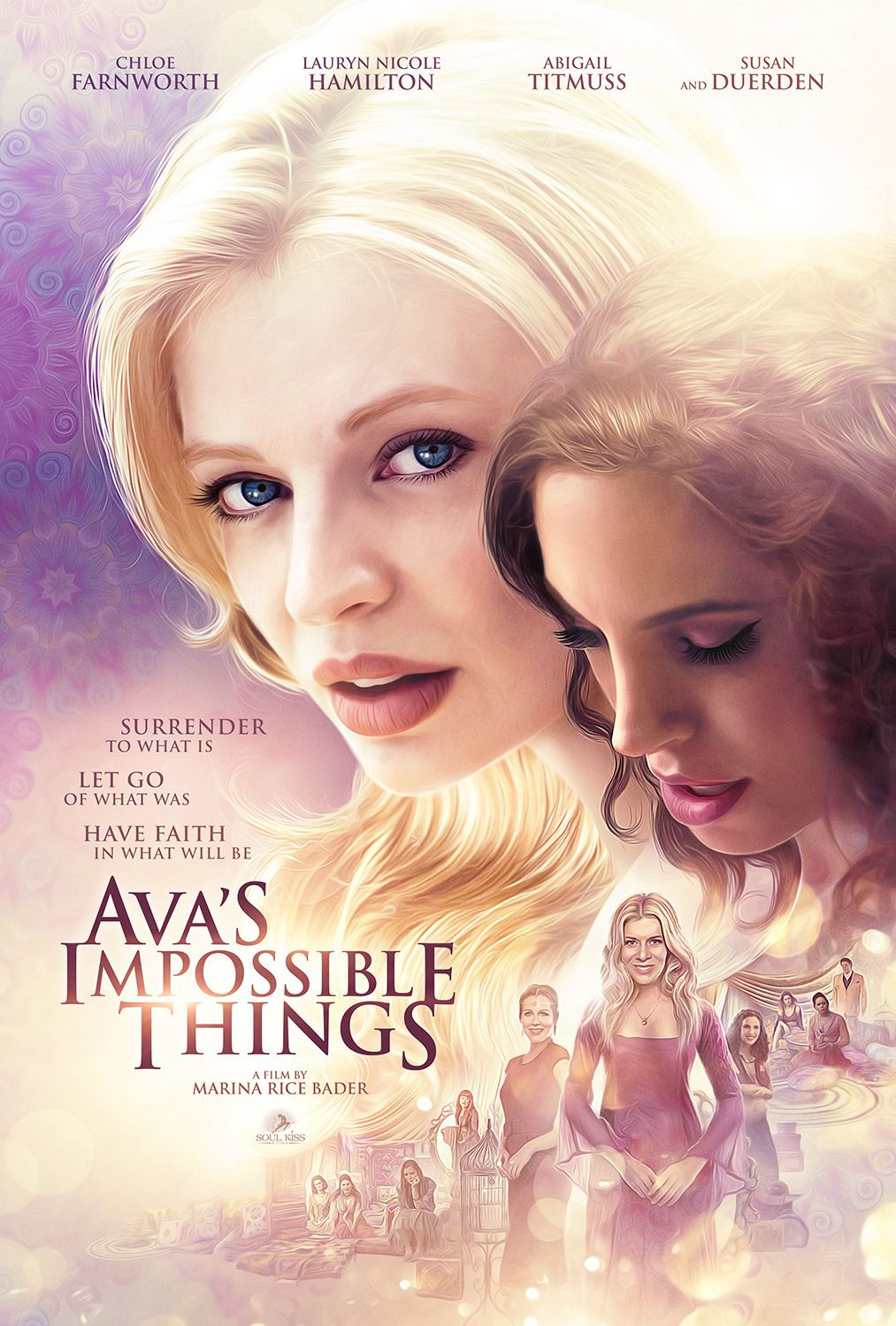 Avas Impossible Things - Cast: Chloe Farnworth, Lauryn Nicole Hamilton, Abigail Titmuss, Susan Duerden - Film Poster