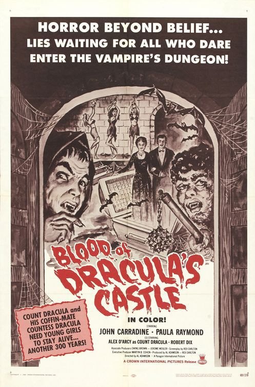 Blood of Draculas Castle (1969)