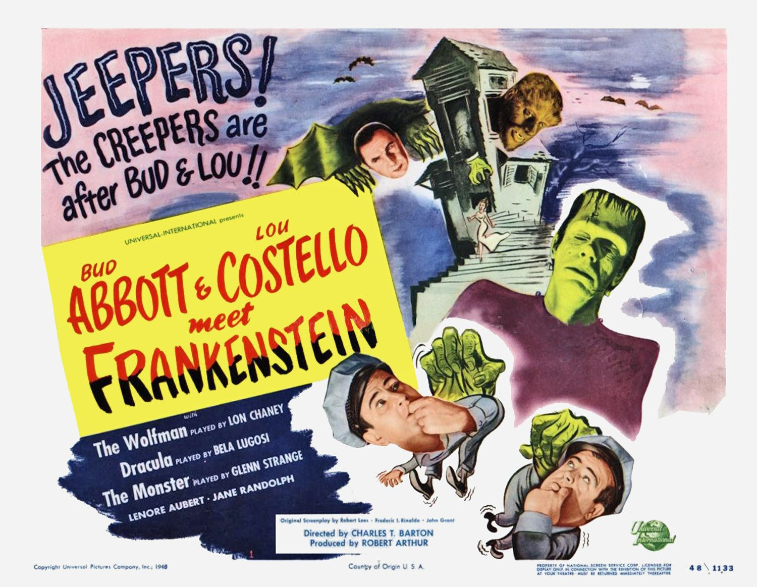 Bud Abbott and Lou Costello meet Frankenstein (1948)