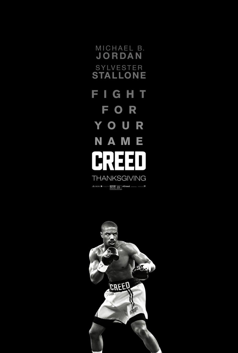 Creed film poster boxer