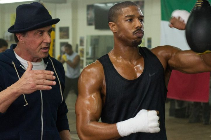 Creed scene box Sylvester Stallone