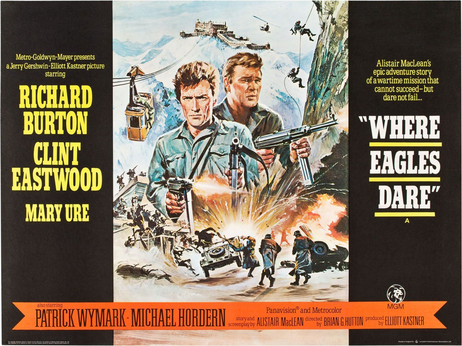 Where Eagles Dare - Dove Osano le Aquile (1968)