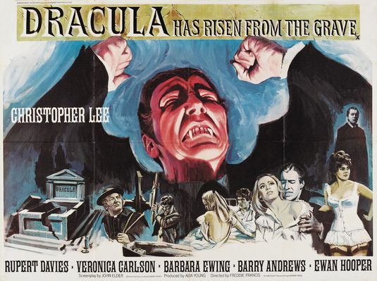 Dracula has Risen from the Grave - Dracula è Risorto dalla Bara (1969)