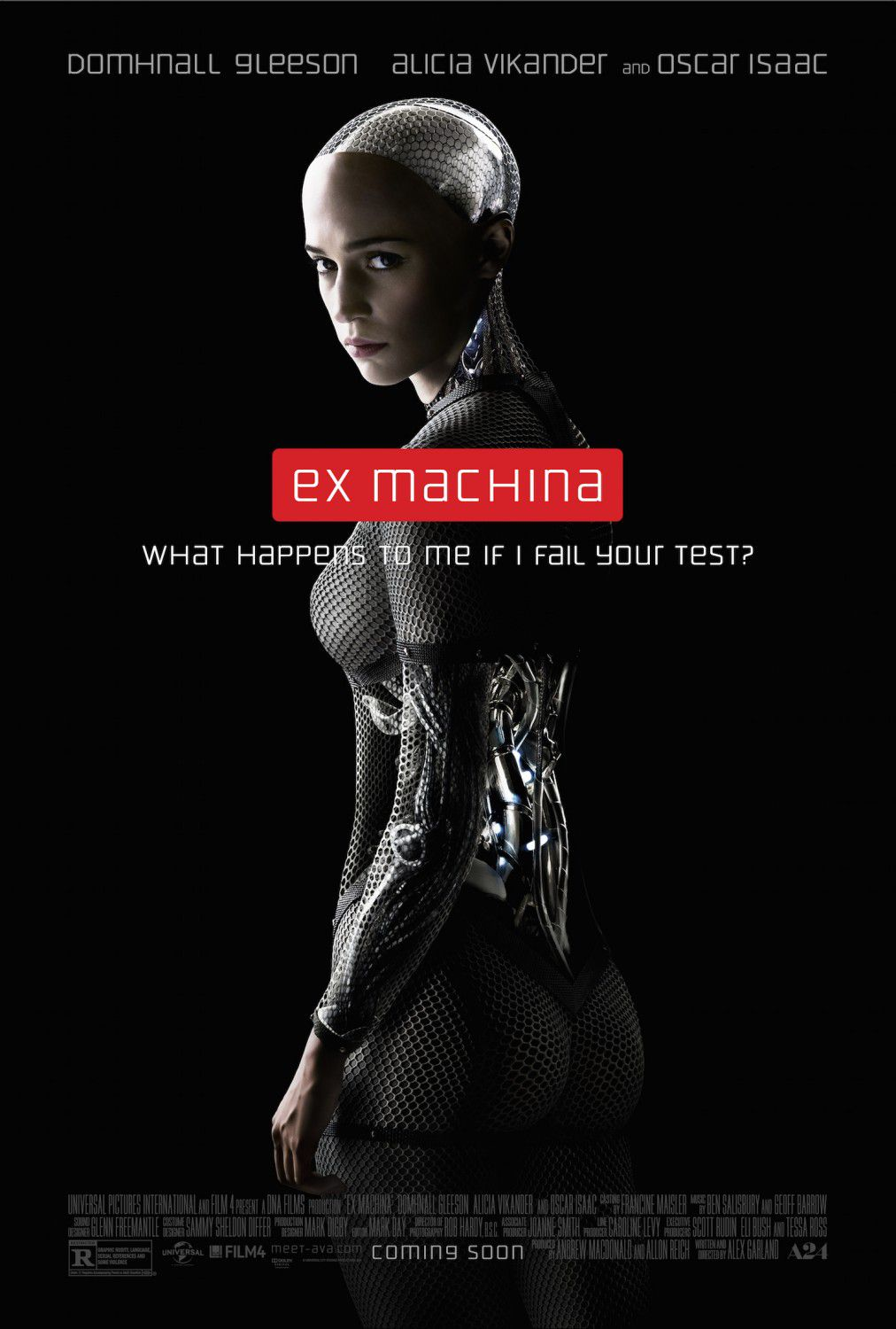 Ex-Machina (2014) Alicia Vikander