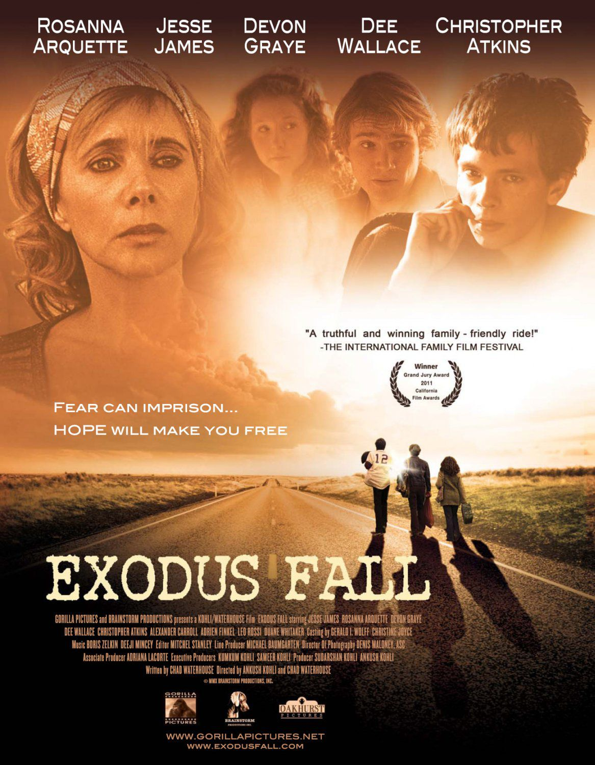 Exodus Fall - film poster