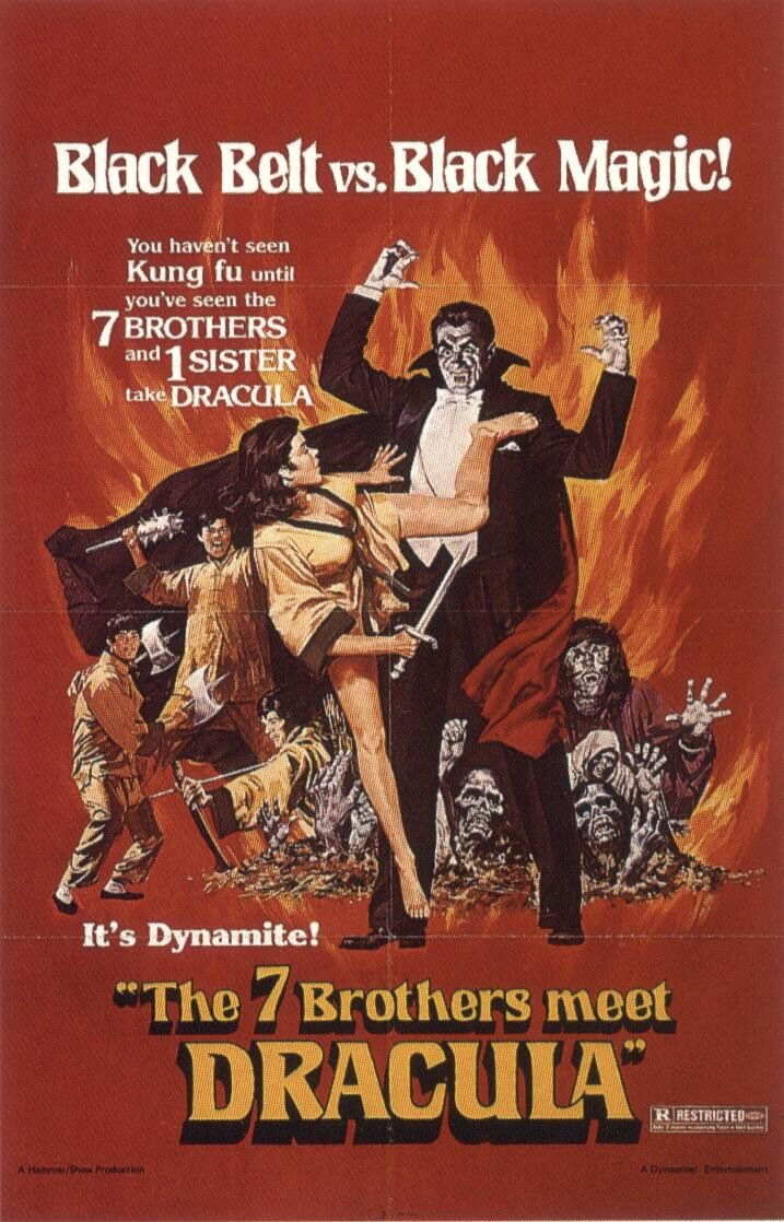 The Seven Brothers meet Dracula (1979)