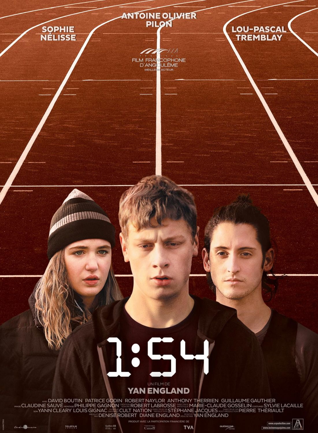 1:54 - Record Run Race - film poster