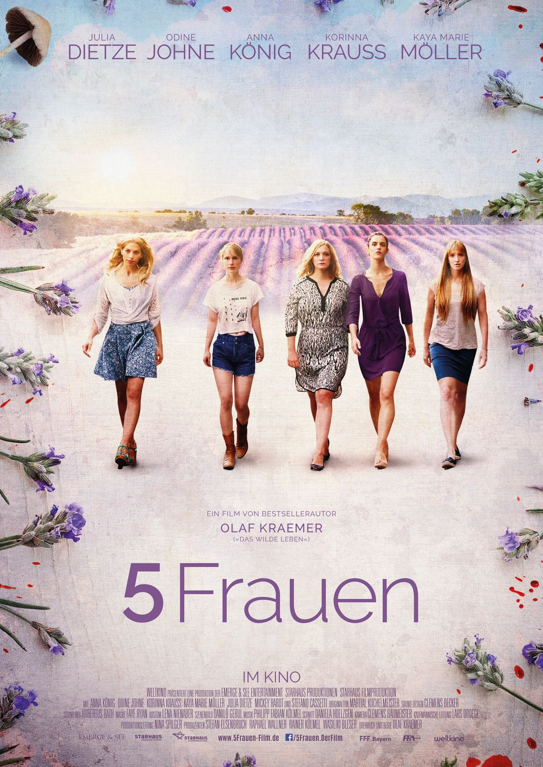 5 Women - 5 Frauen - 5 Donne (2016)