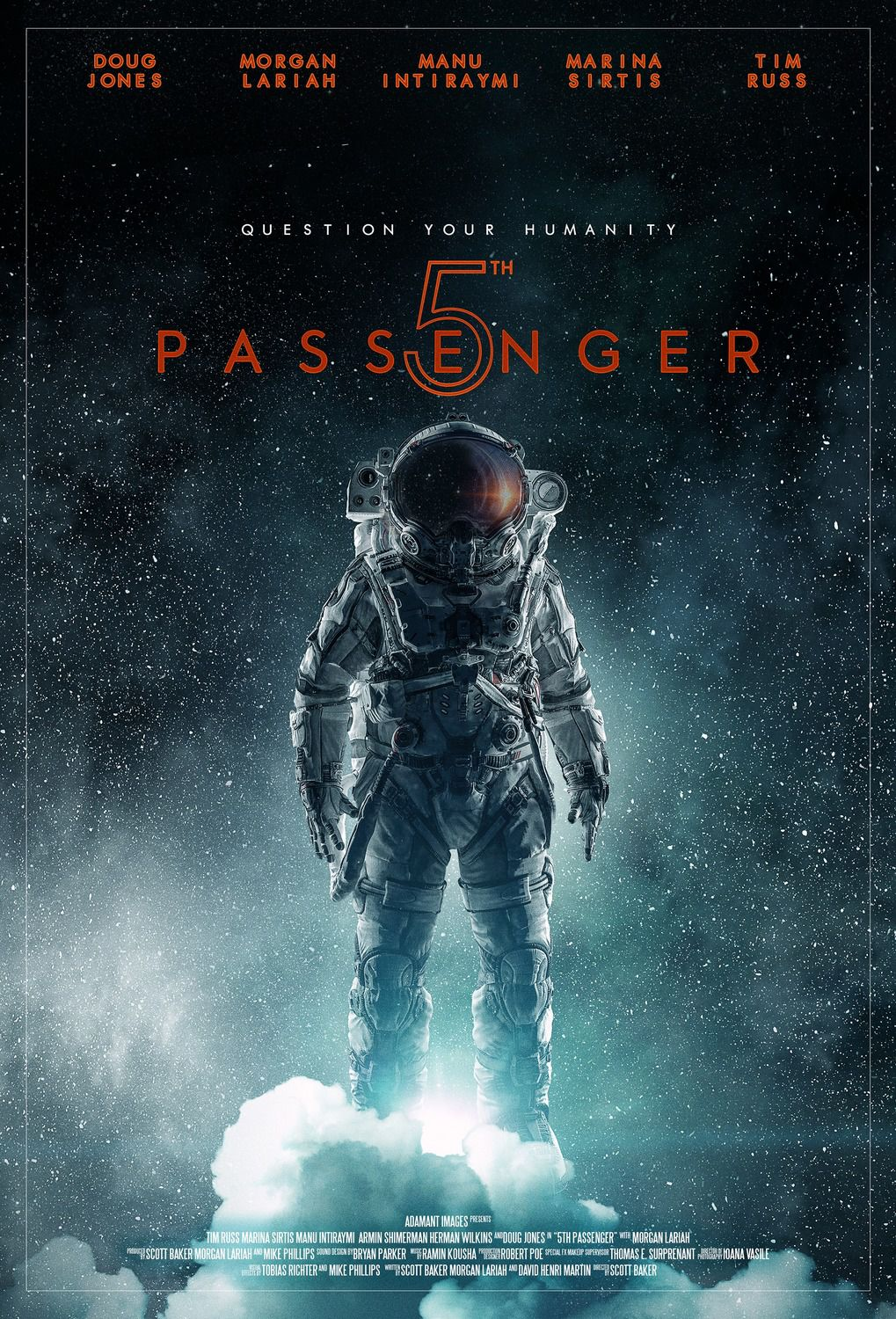 5th Passenger (2018) - scifi - Cast: Doug Jones, Morgan Lariah, Manu Intiraymi, Marina Sirtis, Tim Russ - film poster - fifth