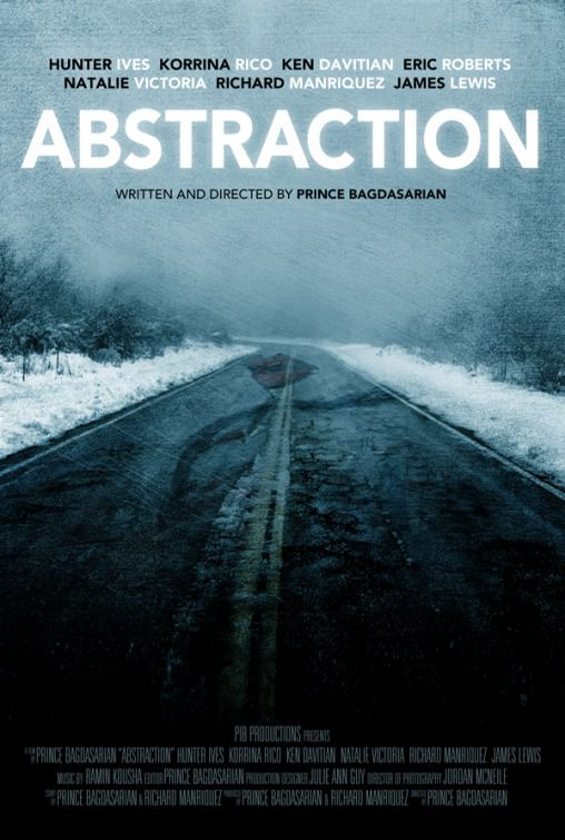 Abstraction - film poster - road