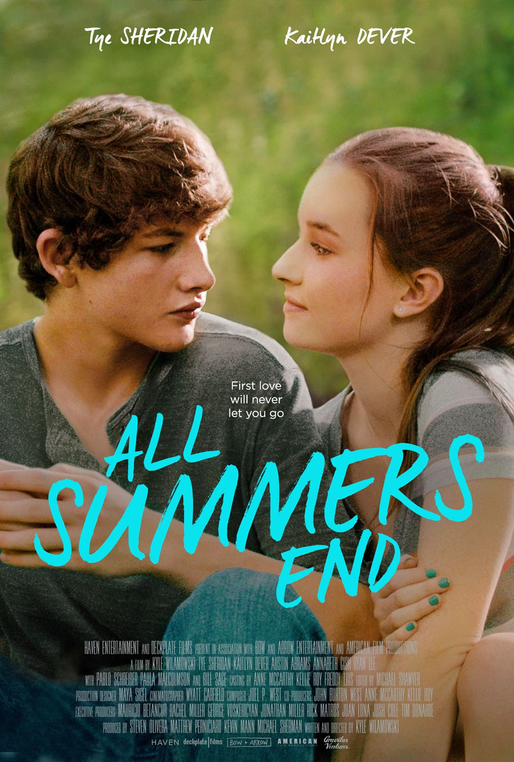 All Summers End - Grass Stains - first Love - Tye Sheridan, Kaitlyn Dever