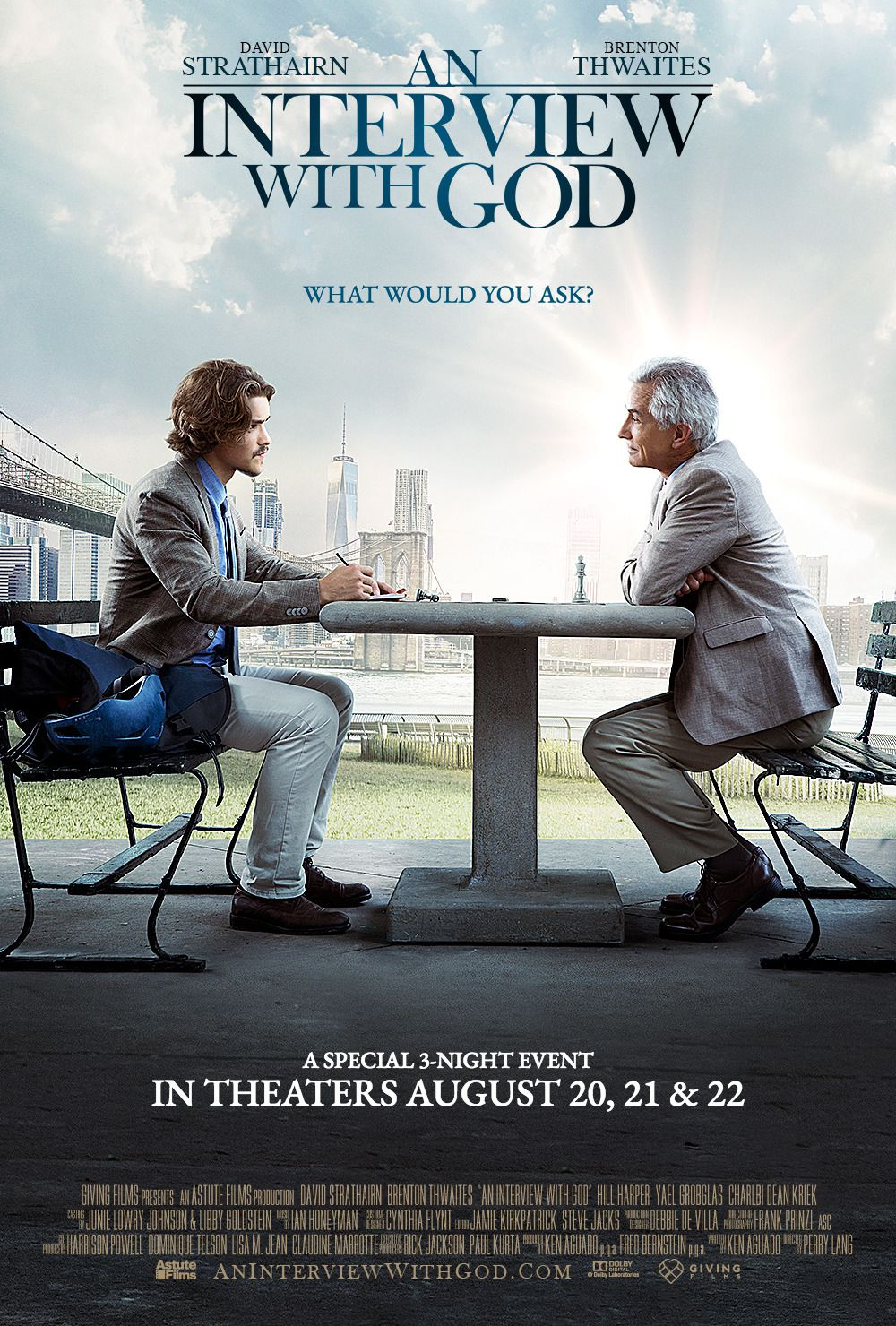 An Interview with God (2018) film poster
