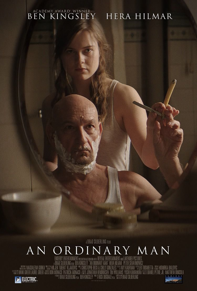An Ordinary Man - Cast: Ben Kingsley, Hera Hilmar - film poster