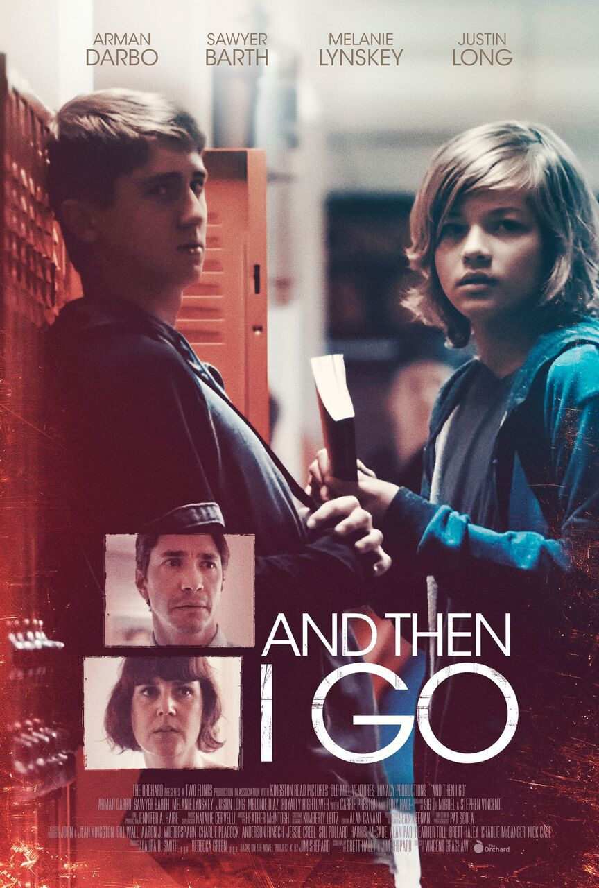 And then I go - Cast: Arman Darbo, Sawyer Barth, Melanie Lynskey, Justin Long - film poster