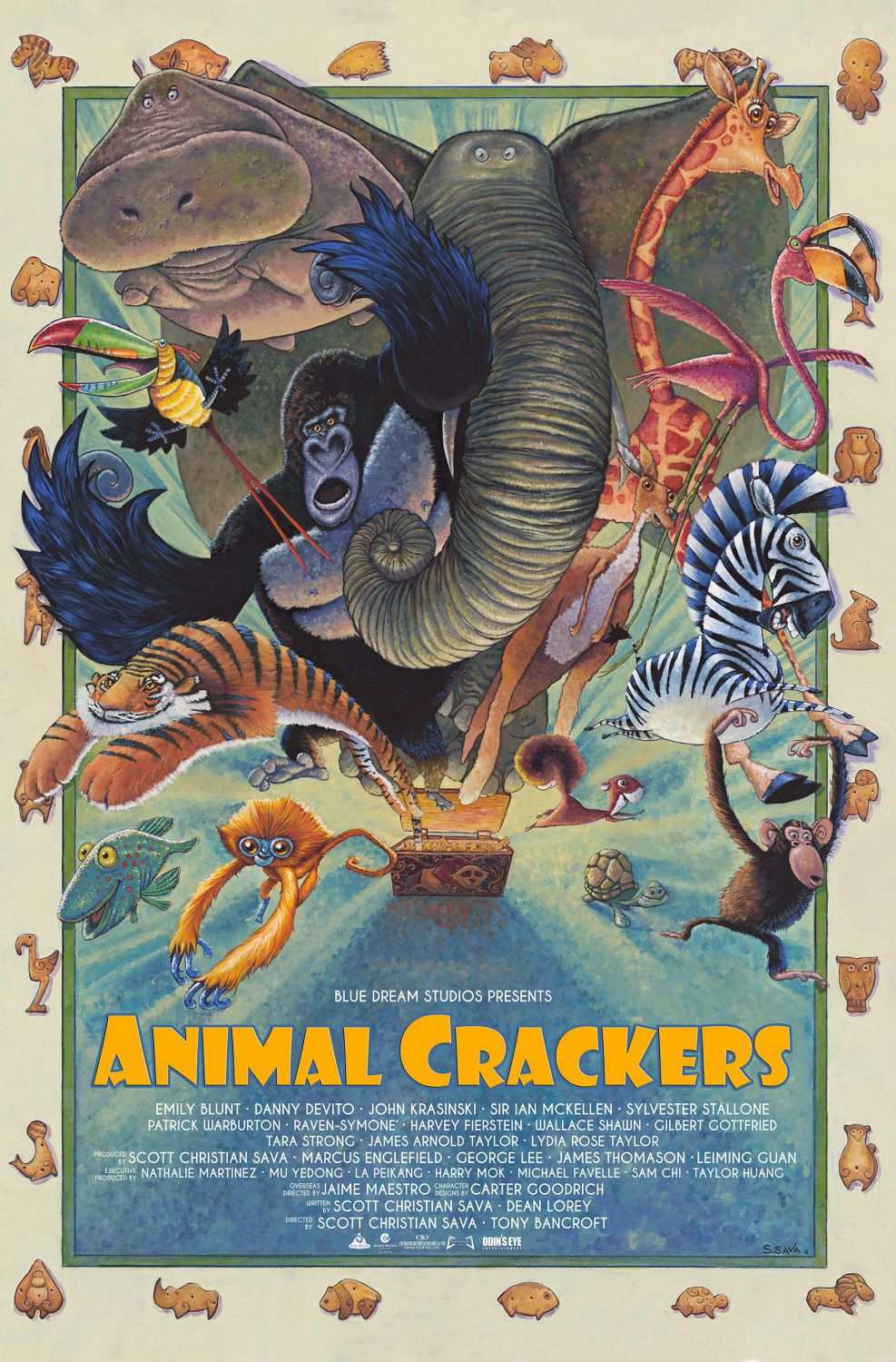 film - Animal Crackers - poster