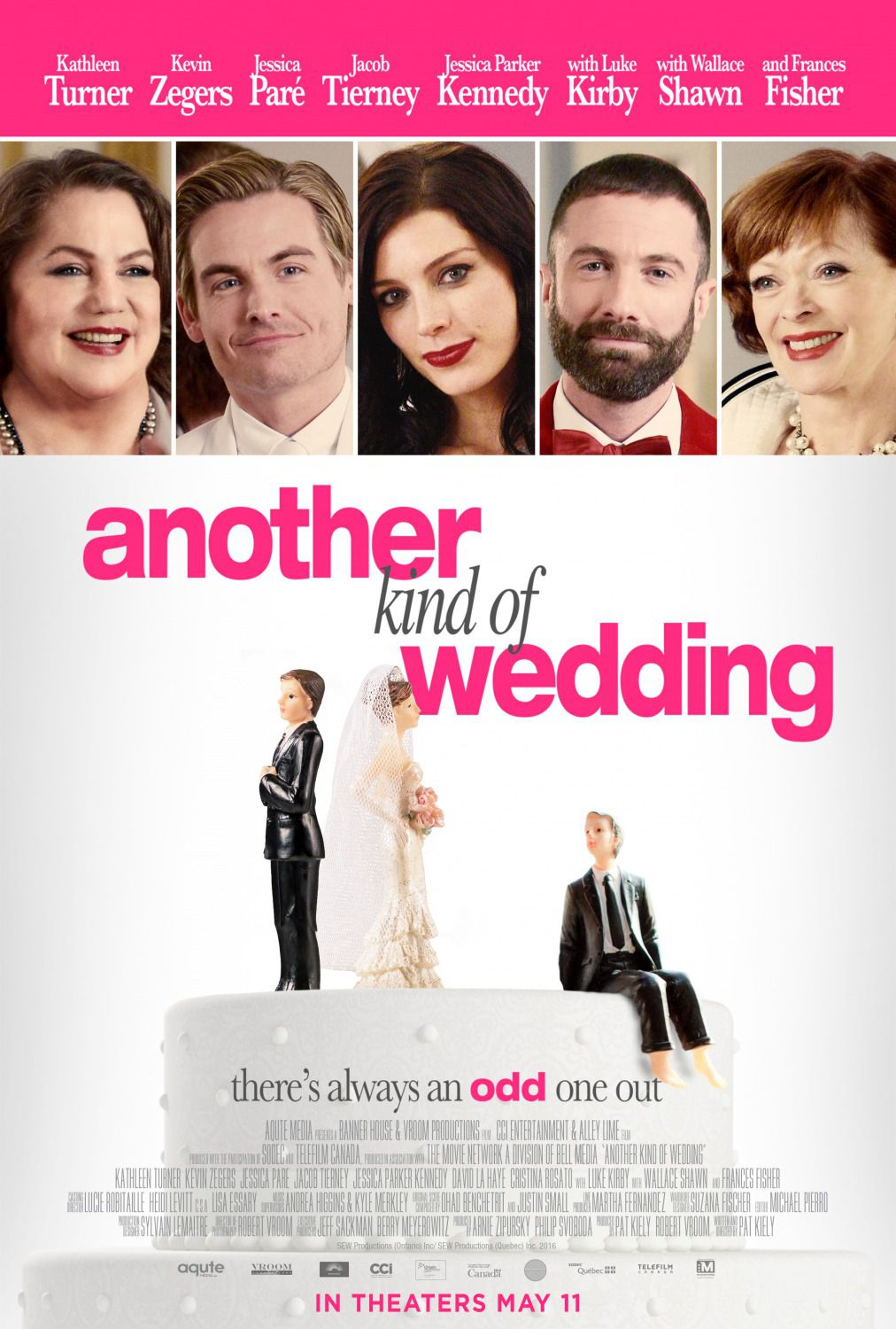Another Kind of Wedding - There's always an odd one out - love comedy film poster