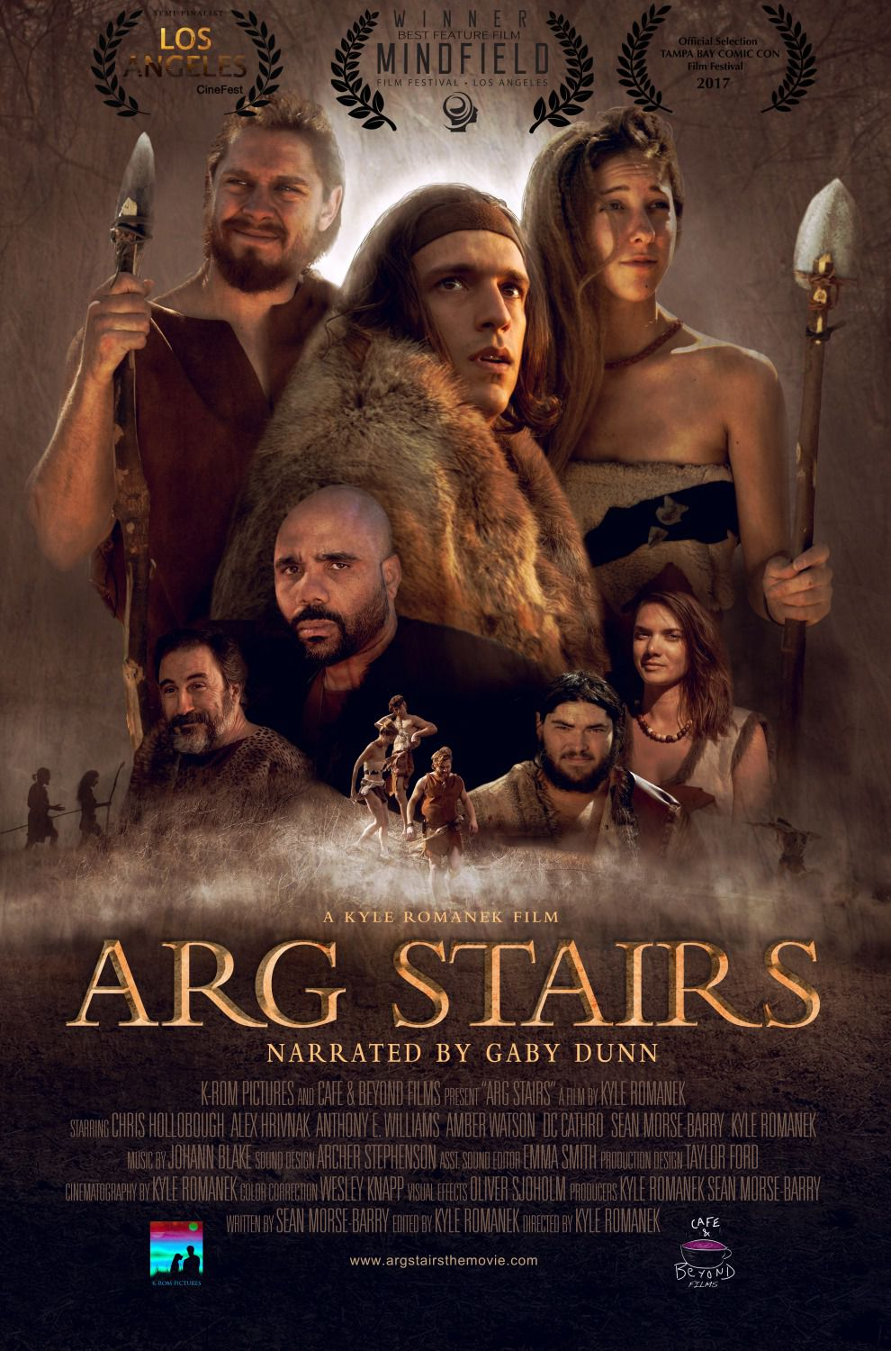 Arg Stairs - history film poster