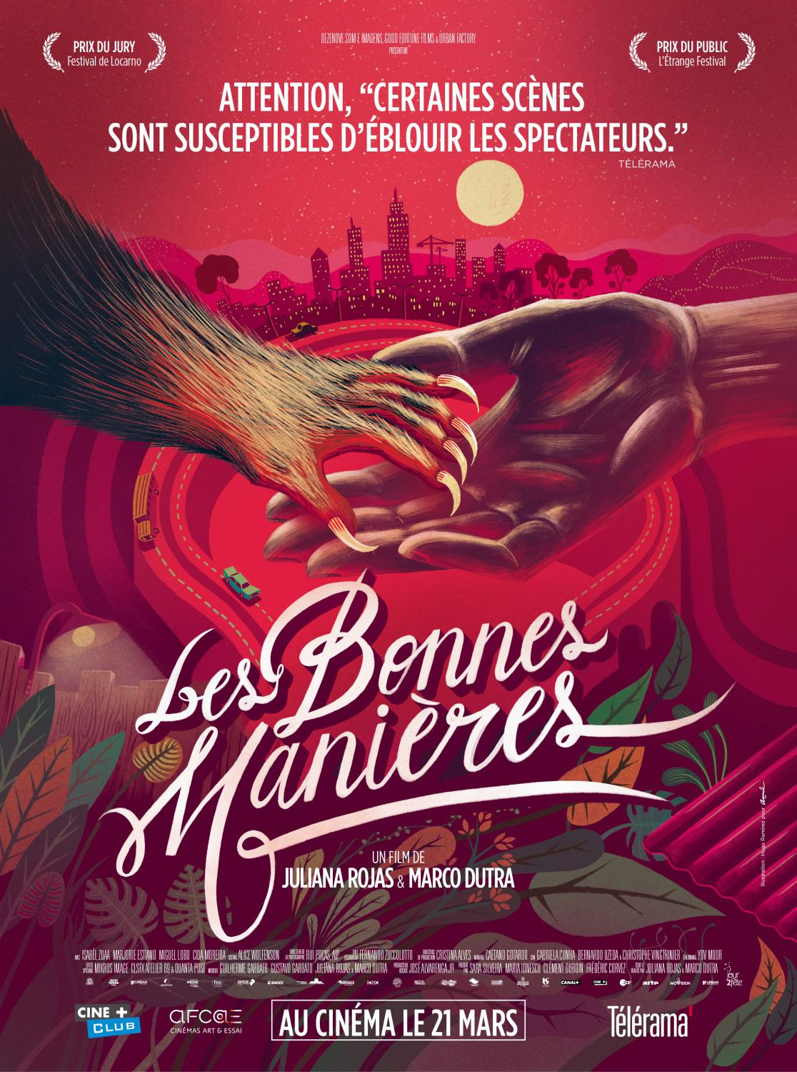 As Boas Maneiras - hands poster