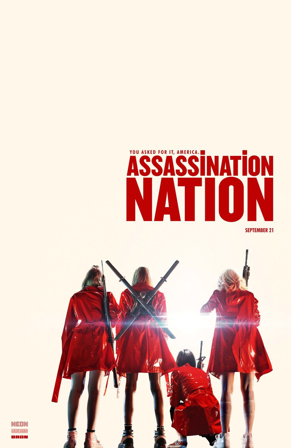 Assassination Nation (2018) film poster