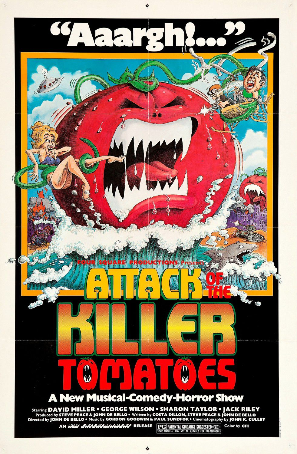 Attack of the Killer Tomatoes - Attacco dei Pomodori Assassini (1978) - film poster