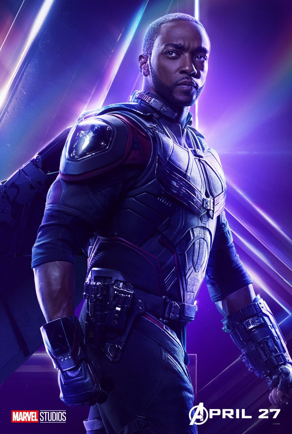Anthony Mackie - Sam Wilson - Falcon