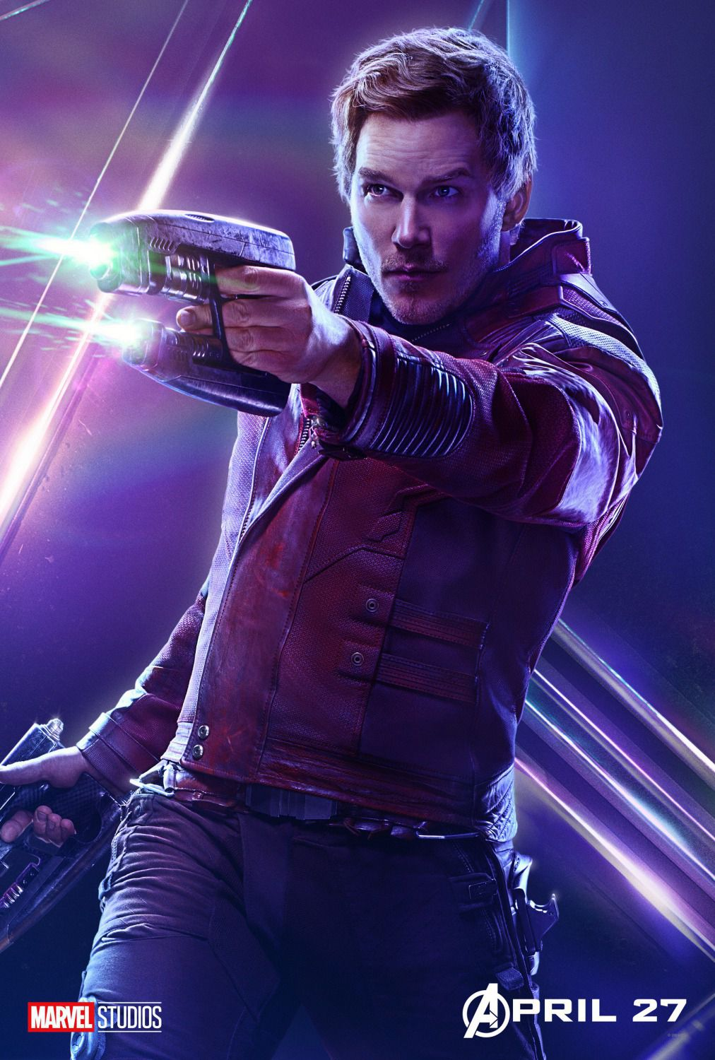 Chris Pratt - Peter Quill - Star-Lord