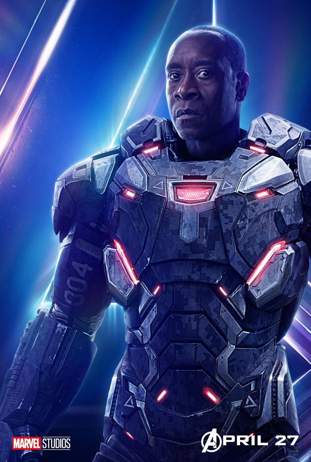 Don Cheadle - James Rhodes - War Machine