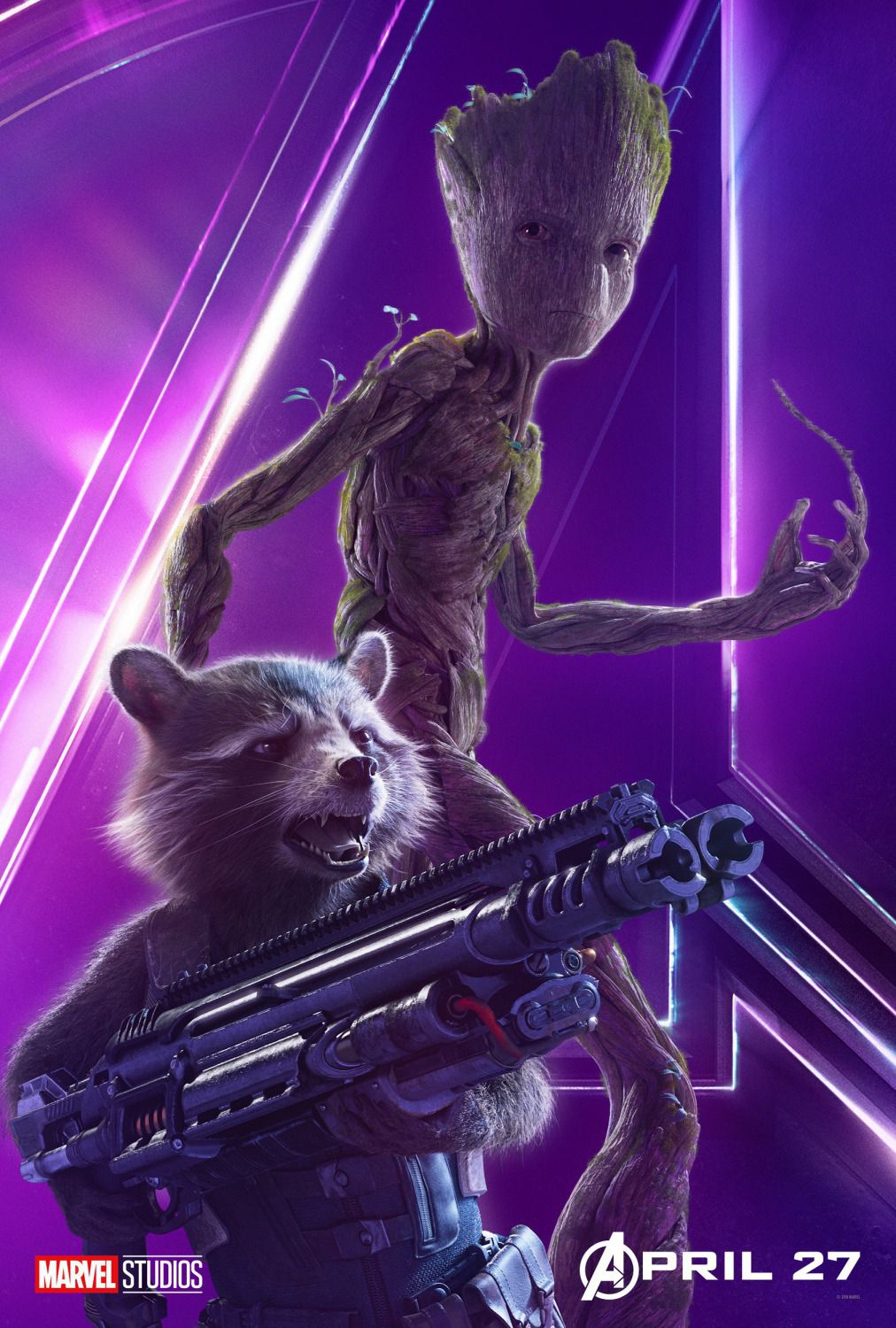Groot - Rocket Raccoon