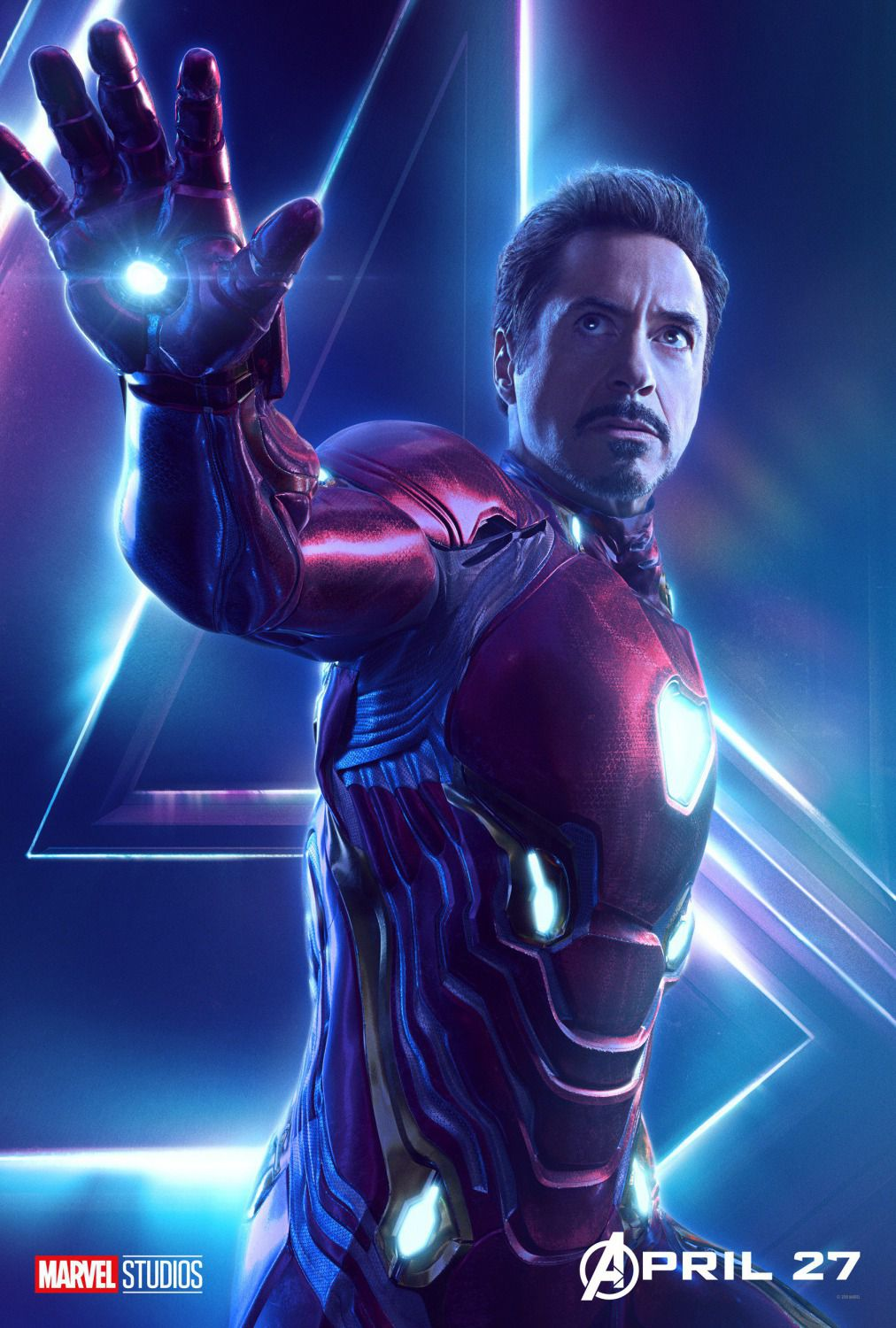 Robert Downey Jr. - Tony Stark - Iron Man
