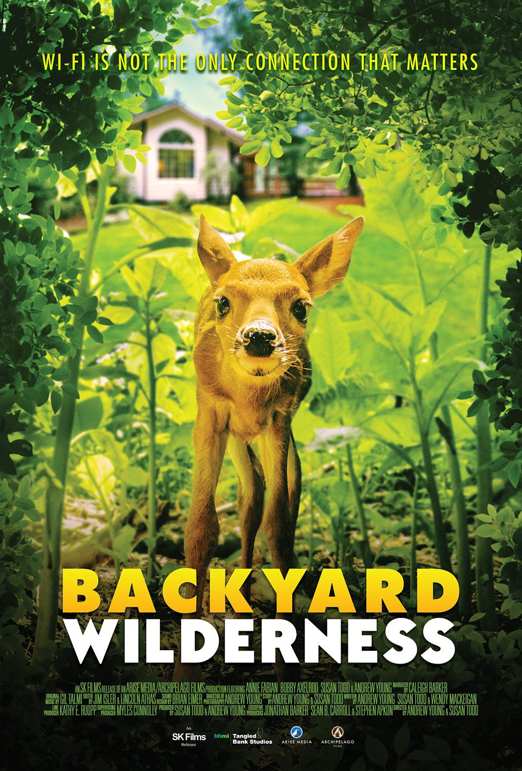 Backyard Wilderness - film cute poster 2018