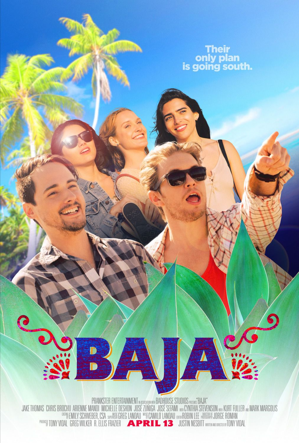 Baja (2018) - Their only plan is going south - film poster