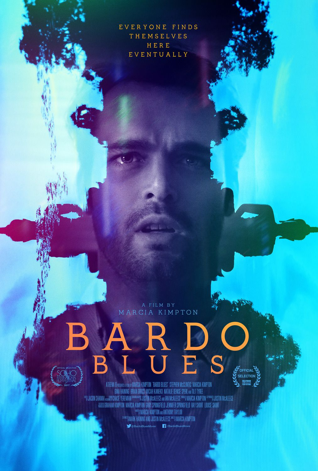 Bardo Blues (2019) - Everyone finds themselves here eventually - film poster