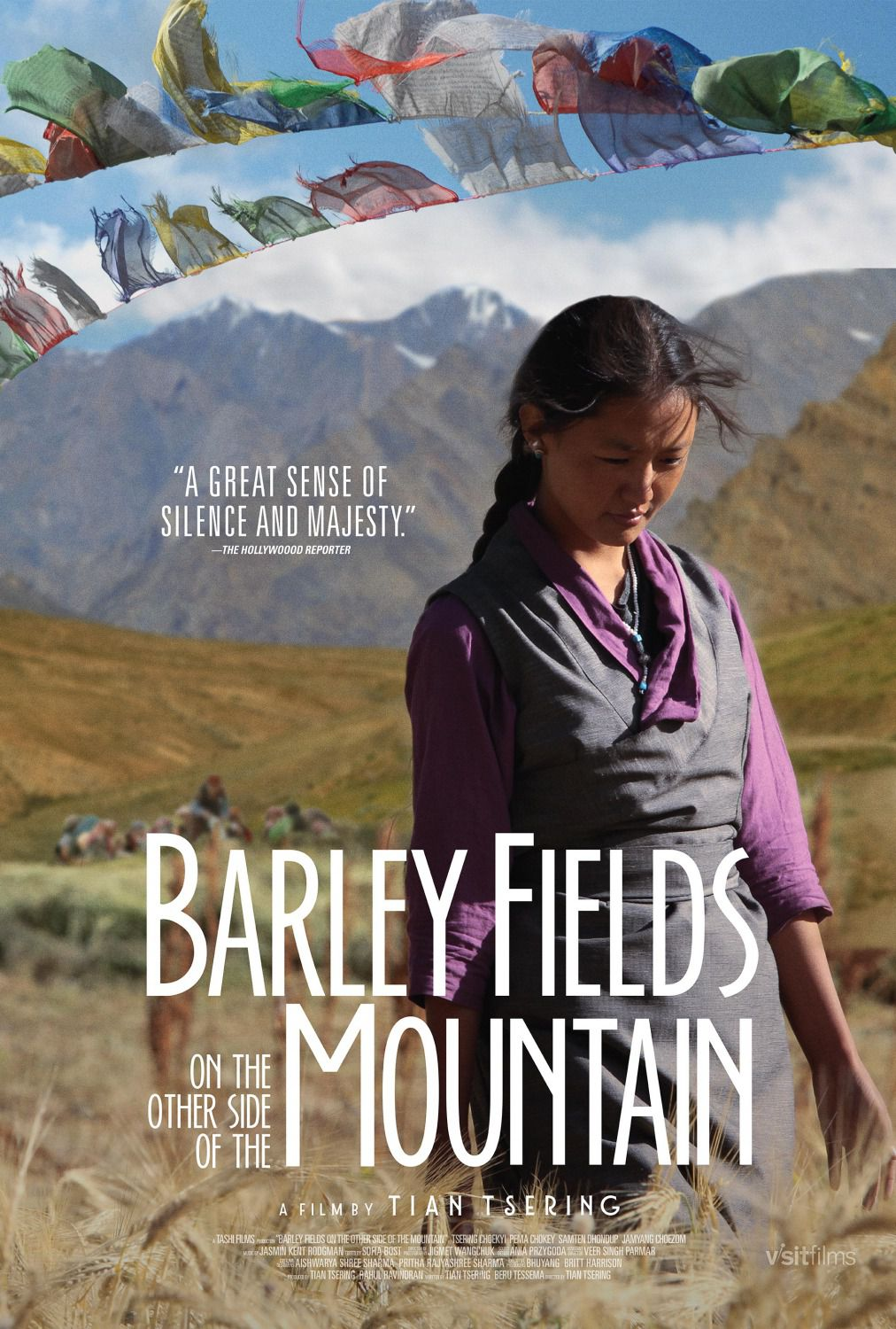 Barley Fields on the other side of the Mountain - film poster 2018