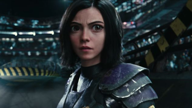 Battle Angel Alita 2018 Super Live Action cyborg battle Film HD 2.0