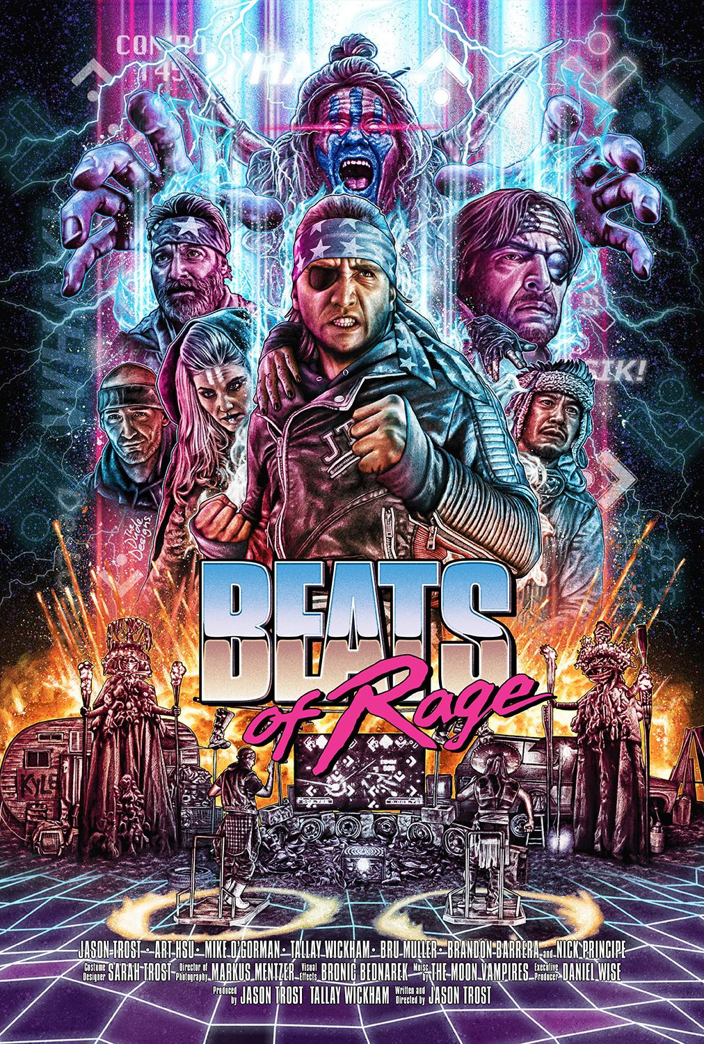 Beats of Rage - poster